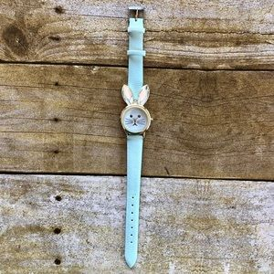 4 for $20 Charming Charlie Mint Bunny Face Watch